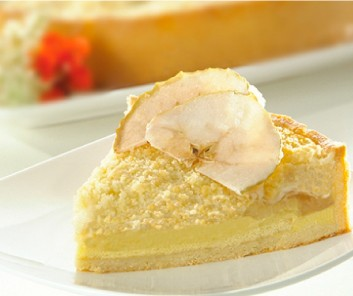 Tarta Crumble de Manzanas