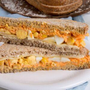 Sandwich de Zanahoria y Choclo